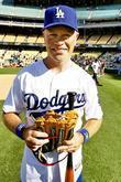 Niel McDonough Dodgers 50th Hollywood Stars soft ball...