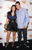 Kim Kardashian and Robert Kardashian Jr.