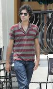 Adrian Grenier films an episode of the HBO...