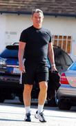 Eric Braeden Arriving At His Gym