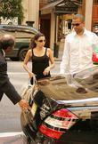 Eva Longoria, Tony Parker and Manhattan Hotel