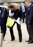 Fiona Phillips Arrives At The Gmtv Studios. The 47 Year Old Announced That She Quit The Show To Spend More Time With Her Kids After Fears That