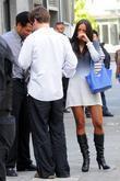 Gary Dourdan, German actor Ken Duken and Gary Dourdan's girlfriend