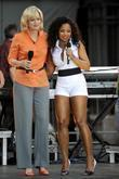 Diane Sawyer, Ashanti and Bryant Park
