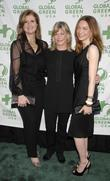 Arianna Huffington, Lyn Lear and Melanie Ellison