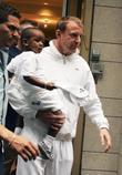 David Banda and Guy Ritchie leaving the Kabbalah...