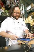 TV chefs David Myers in London's Covent Garden...