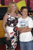 Virginia Madsen and Son