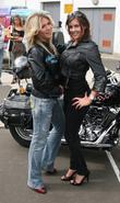 Hofit Golan and Imogen Thomas 2008 Harley Davidson...