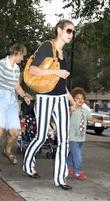 Heidi Klum and son Henry take a family...