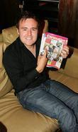 Alan Halsall, star of Coronation Street, at the...