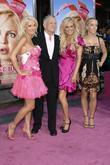 Holly Madison, Bridget Marquardt and Hugh Hefner