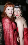 Karen Elson and Sarah Sophie Flicker
