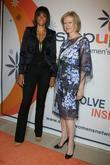 Veronica Webb and Joanna Coles