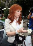 Kathy Griffin outside The Ivy restaurant Los Angeles,...