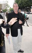 Michael Lohan Leavingthe Ivy Restaurant After Having Lunch With Friends