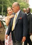 Jennifer Lopez and Oscar de la Renta