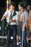 Nick Jonas, Joe Jonas and Bryant Park