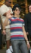 Joe Jonas The Jonas Brothers are greeted by...