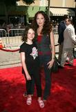 Amy Yasbeck and daughter Arrivals at the 'Journey...