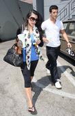 Kim Kardashian, her dance partner Mark Ballas