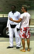 Actor Keith David asks for directions as he...