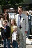 Chris O'Donnell and family