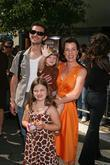 Debi Mazur with her family