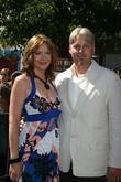 Glenne Headley with her husband