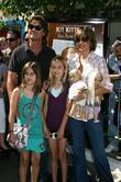 Harry Hamlin and Lisa Rinna with their daughters