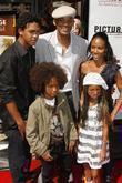 Will Smith, Jada Pinkett Smith and their children