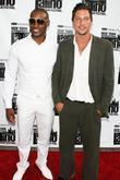Tyson Beckford and Simon Rex
