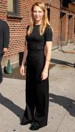 Anna Torv and David Letterman