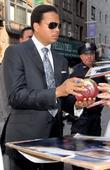 Terrence Howard and David Letterman