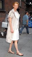 Tilda Swinton, David Letterman