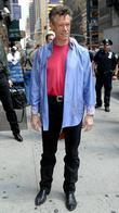 randy travis outside the ed sullivan theater for th