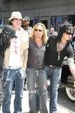 Mick Mars, David Letterman, Motley Crue, Nikki Sixx, Tommy Lee and Vince Neil