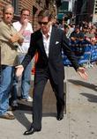 Pierce Brosnan and David Letterman