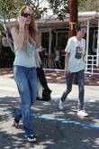 Lindsay Lohan and Samantha Ronson go to Fred...
