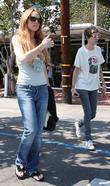Lindsay Lohan and Christian Dior
