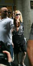 Madonna leaving the Kabbalah centre New York City,...
