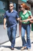 Marcia Cross, husband Tom Mahoney shopping at Malibu Mall