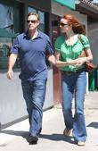 Marcia Cross and husband Tom Mahoney shopping at Malibu Mall