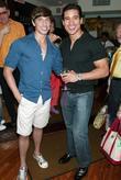 Nick Adams and Mario Lopez