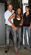 Stephen Belafonte and Melanie Brown (mel B)