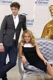 Michael Urie and Becki Newton