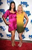 Adrianne Curry and Andrea Brooks Marijuana Policy Project's...