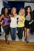 Mel B, Frederique van der Wal, Aubrey O'Day and Khloe Kardashian