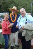 Lary Hagman and guests The Ojai film festival...