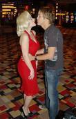 Larry Birkhead kissing a guest Celebrity Memorabilia and...